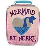 Kids Mermaid Glitter Lunch Bag