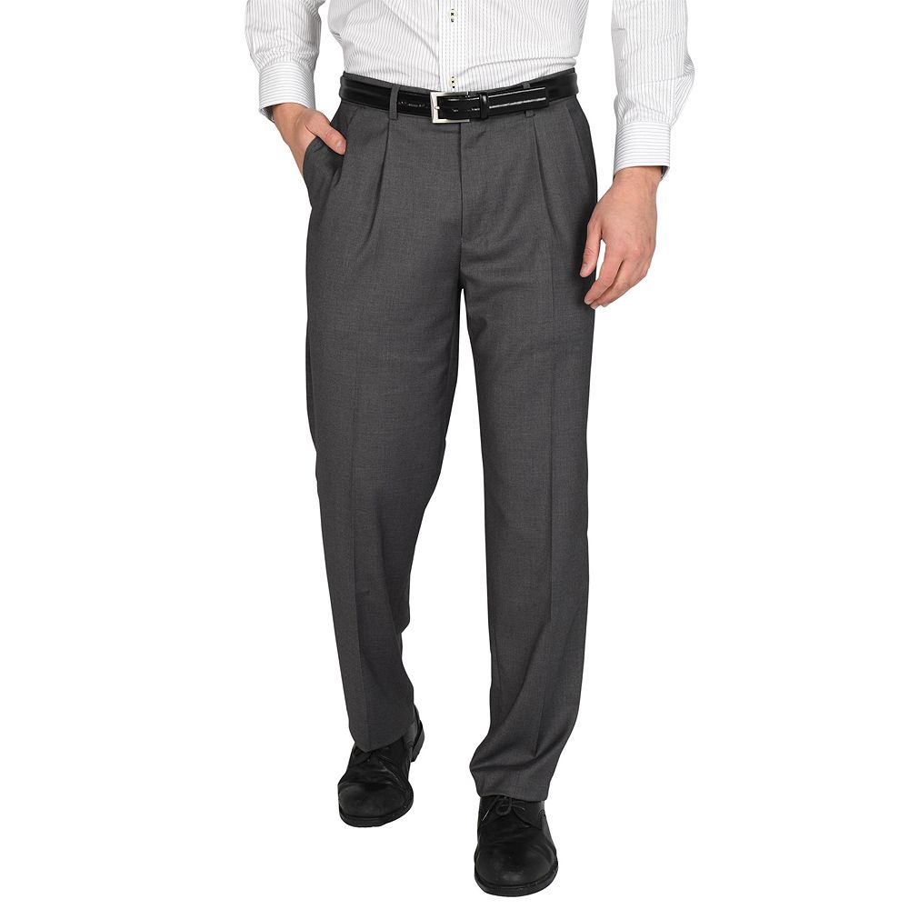 Men's Dockers® Straight-Fit Stretch Pleated Dress Pants