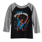 Toddler Boy Jumping Beans® Marvel Spider-Man Raglan Graphic Tee
