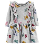 Baby Girl Carter's Print Ruffled Dress