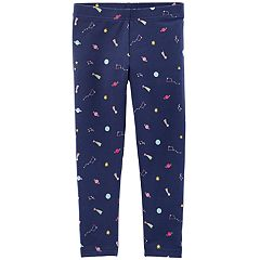 Baby Girl Carter's Printed Full-Length Leggings
