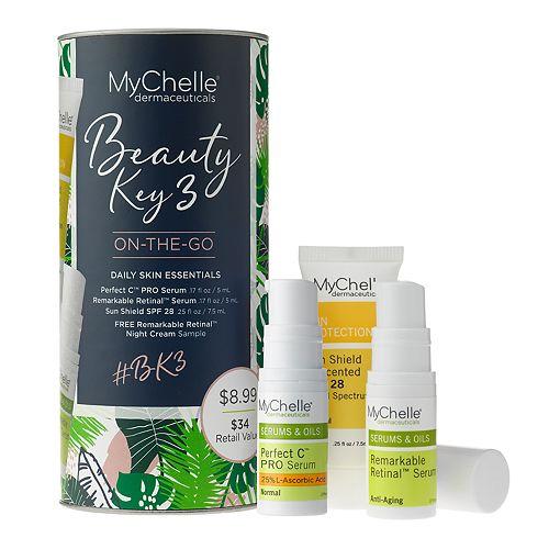 MyChelle Dermaceuticals Beauty Key 3 On-The-Go Skincare Set