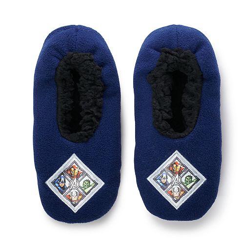 Boys 4-20 Avengers Plush Slippers