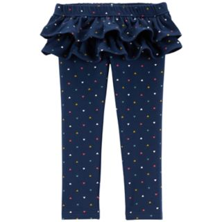 Baby Girl Carter's Ruffle Leggings