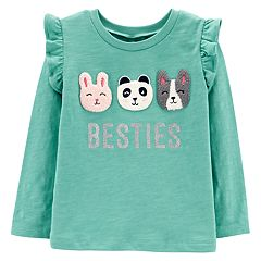 Baby Girl Carter's Graphic Ruffled Tee
