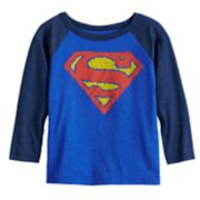 Toddler Boy Jumping Beans® DC Comics Superman Scribble Raglan Graphic Tee