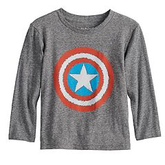 Toddler Boy Jumping Beans® Marvel Captain American Scribble Shield Graphic Tee