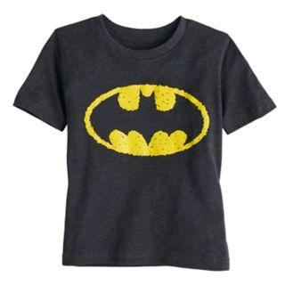 Toddler Boy Jumping Beans® DC Comics Batman Scribble Logo Graphic Tee