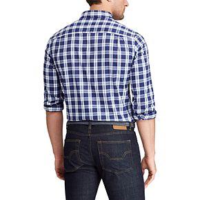 Men's Chaps Slim-Fit Performance Button-Down Shirt
