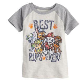 "Toddler Boy Jumping Beans® Paw Patrol ""Best Pups Ever!"" Raglan Graphic Tee"
