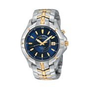 Seiko Kinetic Two Tone Watch - Men