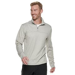 Men's Hi-Tec Space Dye Half-Zip Top