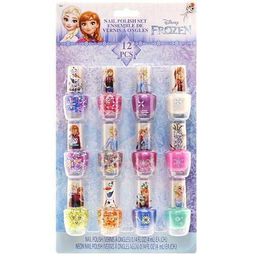 Disney's Frozen Anna & Elsa Nail Polish Set