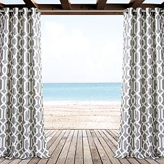 Lush Decor 2-pack Edward Trellis Indoor & Outdoor Window Curtains - 52' x 84'