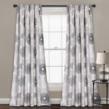 "Lush Decor 2-pack Multi Circles Room Darkening Window Curtains - 52"" x 84"""