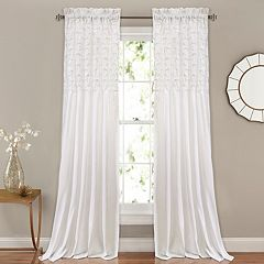 Lush Decor 2-pack Bayview Window Curtains - 54' x 84'