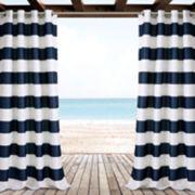 "Lush Decor 2-pack Stripe Indoor & Outdoor Window Cutains - 52"" x 84"""
