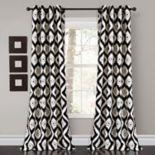 "Lush Decor 2-pack Diamond Ikat Room Darkening Window Curtains - 52"" x 84"""