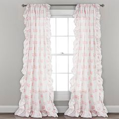 Lush Decor 2-pack Ruffle Fox Kids Window Curtains - 40' x 84'
