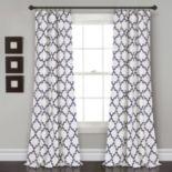 "Lush Decor 2-pack Bellagio Room Darkening Window Curtains - 52"" x 84"""