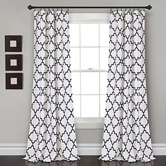 Lush Decor 2-pack Bellagio Room Darkening Window Curtains - 52' x 84'