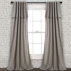 Lush Decor 2-pack Ivy Tassel Window Curtains - 40' x 84'