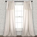 Lush Decor 2-pack Ivy Tassel Window Curtains