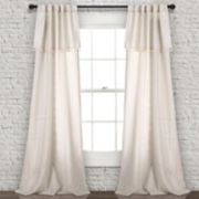 "Lush Decor 2-pack Ivy Tassel Window Curtains - 40"" x 84"""