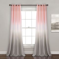 Lush Decor 2-pack Umbre Fiesta Room Darkening Window Curtains - 52' x 84'