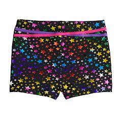 Girls 4-16 Jacques Moret Rainbow Star Shorts