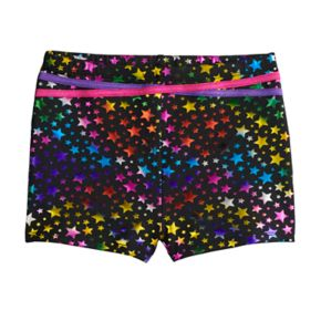Girls 4-16 Jacques Moret Rainbow Star Shorts