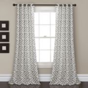 "Lush Decor 2-pack Giovana Room Darkening Window Curtains - 52"" x 84"""
