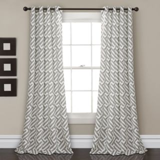 "Lush Decor 2-pack Giovana Room Darkening Window Curtains - 52"" x 84"""
