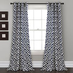 Lush Decor 2-pack Giovana Room Darkening Window Curtains - 52' x 84'
