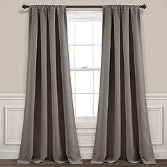 5d247664a9228 Lush Decor 2-pack Insulated Grommet Blackout Window Curtains