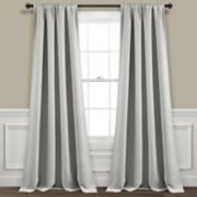 Lush Decor 2-pack Insulated Grommet Blackout Window Curtains