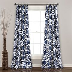 Lush Decor 2-pack Marvel Suzani Room Darkening Window Curtains - 52' x 84'