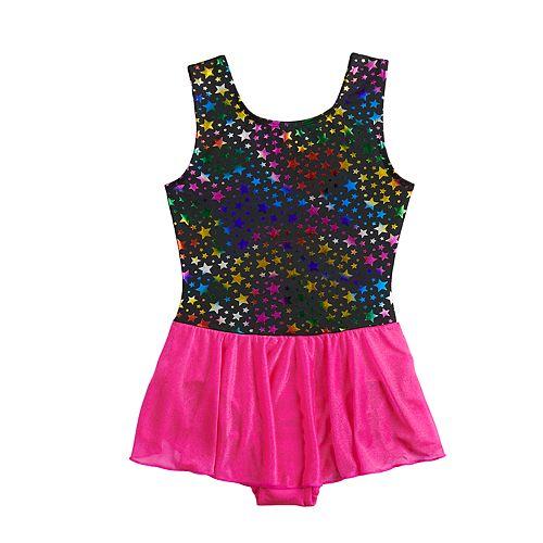 Girls 4-16 Jacques Moret Rainbow Stars Skirtall