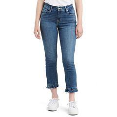 Women's Levi's® Tie-Hem MidRise Skinny Jeans
