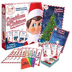 The Elf On The Shelf® Countdown to Christmas Family Advent Game