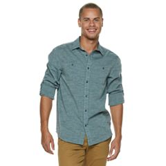 Men's Urban Pipeline™ Solid Button-Down Shirt