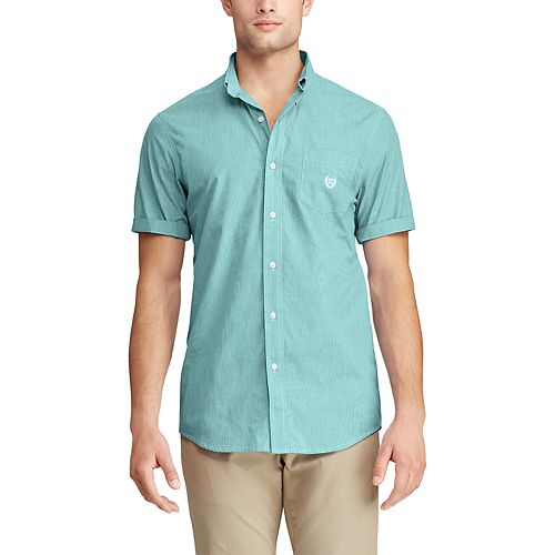 Men's Chaps Slim-Fit Easy-Care Button-Down Shirt
