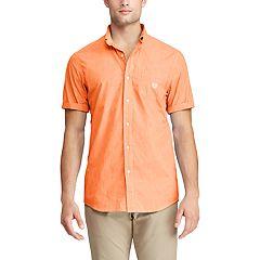 Men's Chaps Slim-Fit Easy-Care Button-Down Shirt