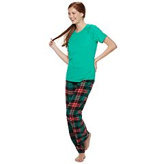 Juniors' SO® 3-piece Tee, Shorts & Pants Pajama Set