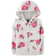 Toddler Girl OshKosh B'gosh® Logo Fleece Hoodie