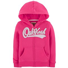 Toddler Girl OshKosh B'gosh® Logo Fleece Hoodie
