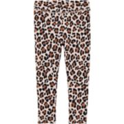 Toddler Girl OshKosh B'gosh® Print Fleece Leggings