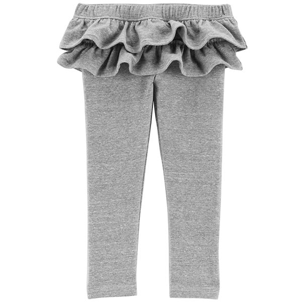 Toddler Girl Carter S Ruffle Skirted Leggings