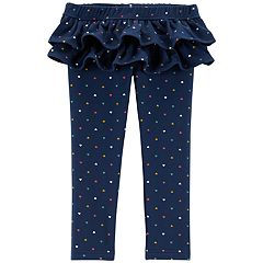 Toddler Girl Carter's Ruffle Skirted Leggings