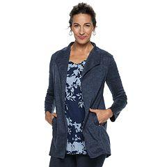 Women's Dana Buchman Everyday Casual Open Front Cardigan